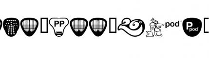 Peepod (plain) Font OTHER CHARS