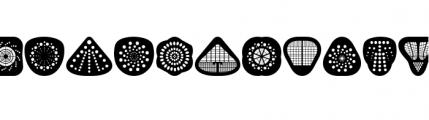 Peepod (plain) Font LOWERCASE