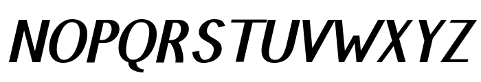 Pfennig Bold Italic Font UPPERCASE
