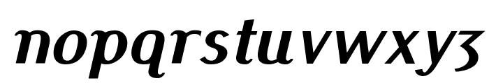 Pfennig Bold Italic Font LOWERCASE