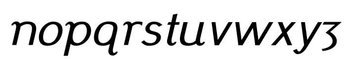 Pfennig Italic Font LOWERCASE