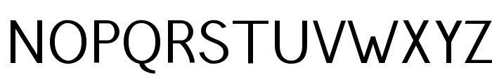 Pfennig Font UPPERCASE