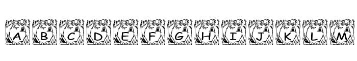 pf_holloween1 Font UPPERCASE