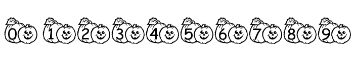 pf_pumpkin1 Font OTHER CHARS