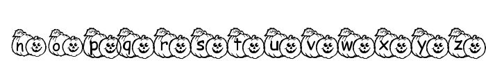 pf_pumpkin1 Font UPPERCASE