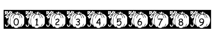 pf_pumpkin2 Font OTHER CHARS
