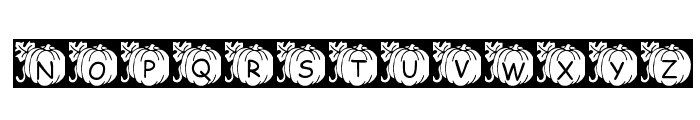 pf_pumpkin2 Font LOWERCASE