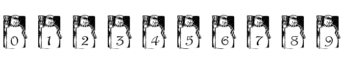 pf_snowman1 Font OTHER CHARS
