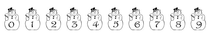 pf_snowman2 Font OTHER CHARS