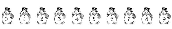 pf_snowman3 Font OTHER CHARS