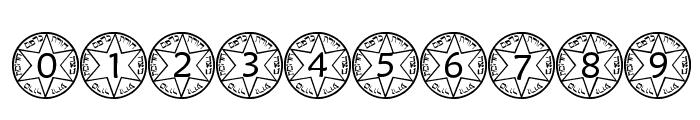pf_sstar1 Font OTHER CHARS