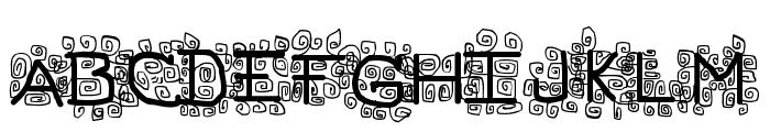 pf_veryverybadfont19 Font LOWERCASE