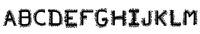 pf_veryverybadfont20 Font LOWERCASE