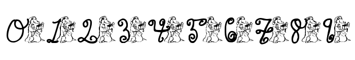 pf_xmas_gator Font OTHER CHARS