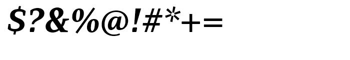PF Adamant Bold Italic Font OTHER CHARS
