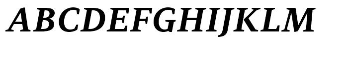 PF Adamant Bold Italic Font UPPERCASE