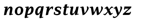 PF Adamant Bold Italic Font LOWERCASE