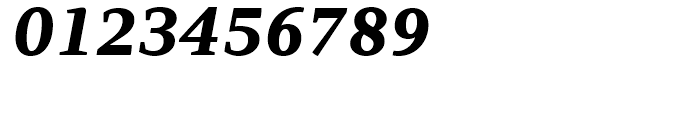 PF Adamant ExtraBold Italic Font OTHER CHARS