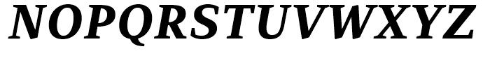 PF Adamant ExtraBold Italic Font UPPERCASE