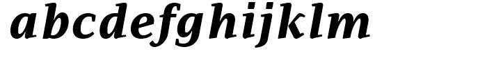 PF Adamant ExtraBold Italic Font LOWERCASE
