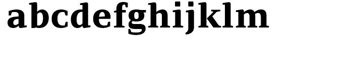 PF Adamant ExtraBold Font LOWERCASE