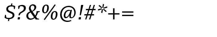 PF Adamant Italic Font OTHER CHARS