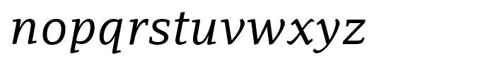 PF Adamant Italic Font LOWERCASE