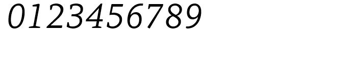 PF Adamant Light Italic Font OTHER CHARS