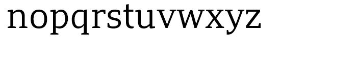 PF Adamant Light Font LOWERCASE