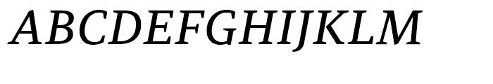 PF Adamant Medium Italic Font UPPERCASE