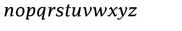 PF Adamant Medium Italic Font LOWERCASE