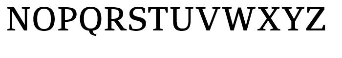 PF Adamant Medium Font UPPERCASE