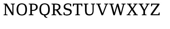 PF Adamant Regular Font UPPERCASE