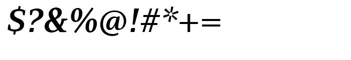 PF Adamant SemiBold Italic Font OTHER CHARS