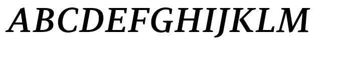 PF Adamant SemiBold Italic Font UPPERCASE