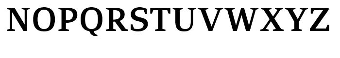 PF Adamant SemiBold Font UPPERCASE