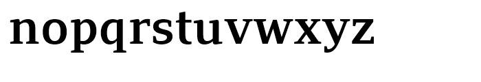 PF Adamant SemiBold Font LOWERCASE