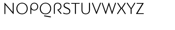 PF Bague Round Light Font UPPERCASE