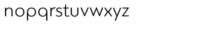 PF Bague Round Light Font LOWERCASE