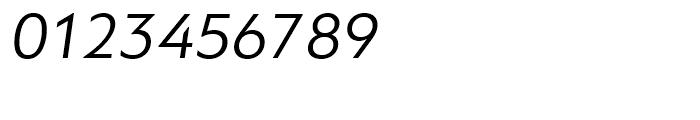PF Bague Sans Italic Font OTHER CHARS