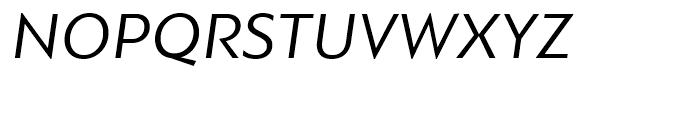 PF Bague Sans Italic Font UPPERCASE