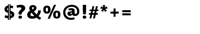 PF Centro Sans Black Font OTHER CHARS