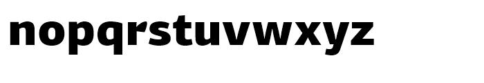 PF Centro Sans Black Font LOWERCASE