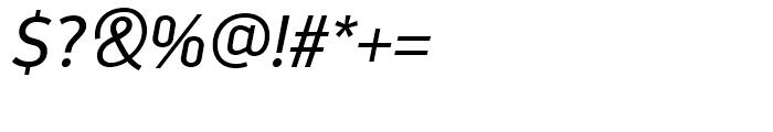 PF Din Display Italic Font OTHER CHARS