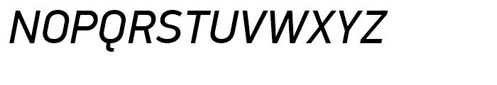 PF Din Display Italic Font UPPERCASE