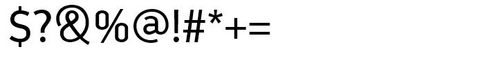 PF Din Display Regular Font OTHER CHARS