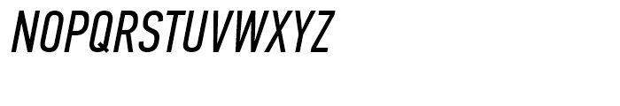 PF Din Text Compressed Italic Font UPPERCASE