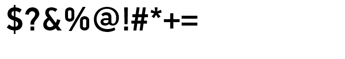 PF Din Text Universal Medium Font OTHER CHARS