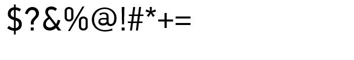 PF Din Text Universal Regular Font OTHER CHARS