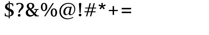 PF Diplomat Serif Medium Font OTHER CHARS